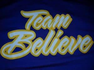 Fundraiser for Team Believe Softball