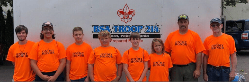 Fundraiser for Boy Scout Troop 214