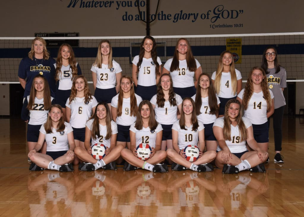 Fundraiser for Berean Christian Lady Eagles Volleyball Team