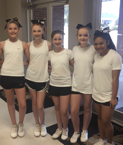 Fundraiser for Iuka Middle School Cheerleaders