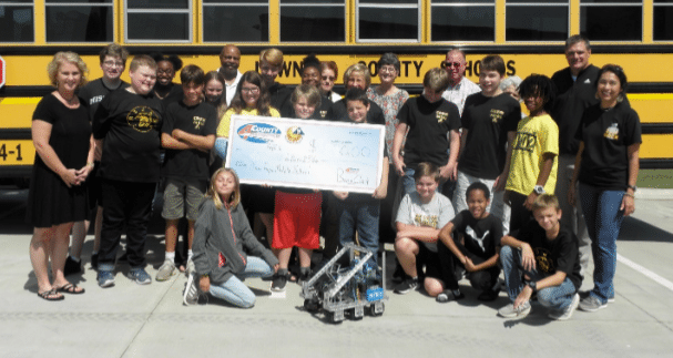 Fundraiser for New Hope Middle School Robotics
