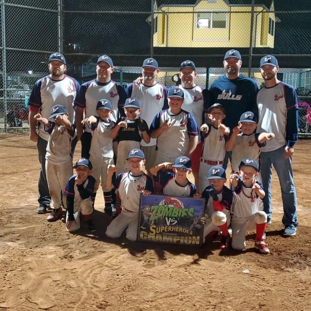 Fundraiser for Bulls 8U Baseball Team