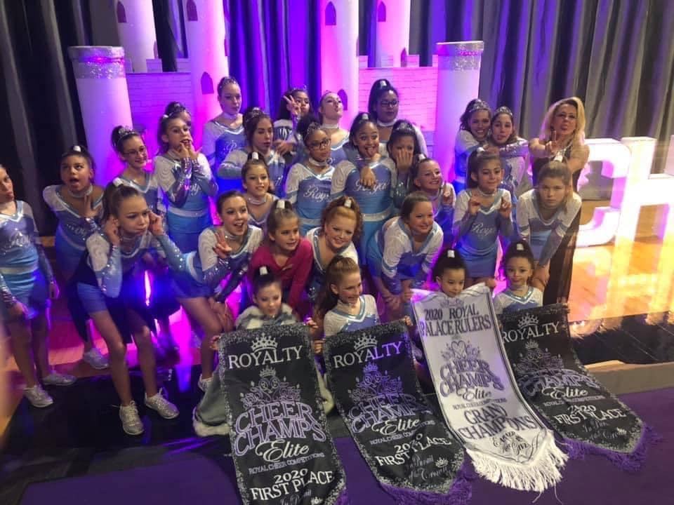Fundraiser for Royal Impact All-Stars Cheerleading