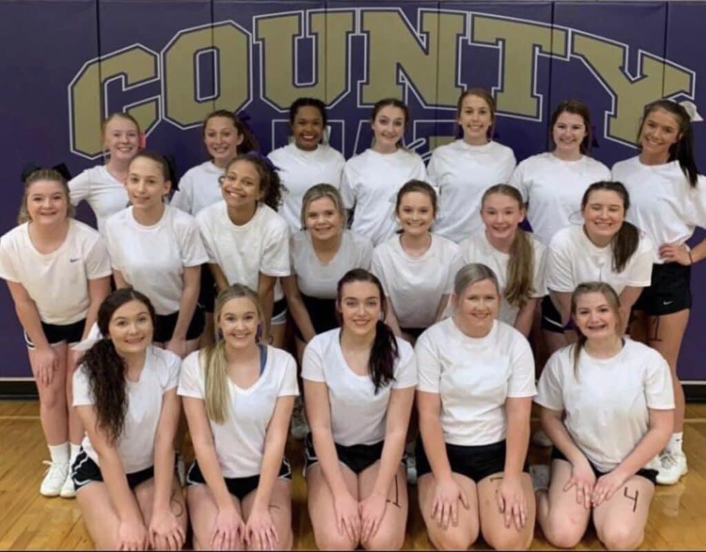 Fundraiser for Winston County High School Varsity Cheerleaders